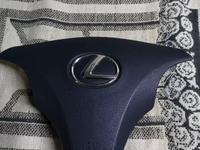 Подушка безопасности на руль (эйрбаг) Lexus ES 350 за 1 234 тг. в Алматы