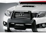 Передняя защита на Toyota Fortuner за 75 000 тг. в Алматы – фото 5