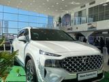 Hyundai Santa Fe 2021 года за 13 790 000 тг. в Шымкент – фото 2