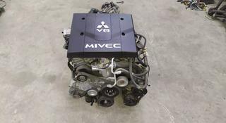 Двигатель 6g75 Mivec, на мицубиси паджеро4, Mitsubishi pajero4 за 1 500 000 тг. в Алматы