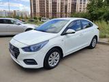 Hyundai Solaris 2018 года за 5 600 000 тг. в Нур-Султан (Астана) – фото 3