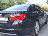 BMW 520 2012 года за 7 600 000 тг. в Алматы – фото 3