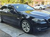 BMW 520 2012 года за 7 600 000 тг. в Алматы – фото 4