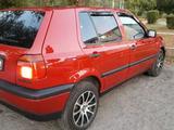 Volkswagen Golf 1993 года за 1 500 000 тг. в Талдыкорган – фото 4