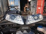 Фары передние на ауди а6 с6 рестайлинг за 250 000 тг. в Алматы