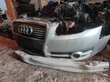 Бампер в сборе (решетка, противотуманки, усилитель) на Audi a4 b7 за 100 000 тг. в Алматы – фото 2