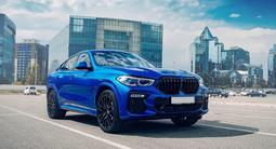BMW X6 2020 года за 45 500 000 тг. в Алматы