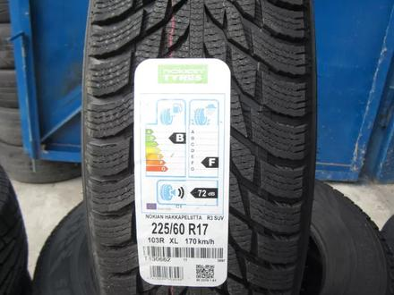 285/60 r18 Nokian Hakkapeliitta r3 SUV за 68 500 тг. в Алматы