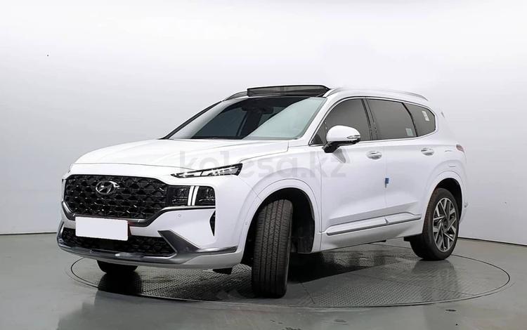 Hyundai Santa Fe 2021 года за 17 100 000 тг. в Алматы