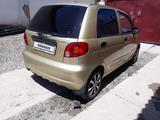 Daewoo Matiz 2006 года за 850 000 тг. в Туркестан – фото 3