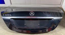 Крышка багажника Mercedes w222 за 200 000 тг. в Алматы