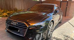 Audi A6 2019 года за 31 500 000 тг. в Алматы – фото 2