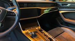 Audi A6 2019 года за 31 500 000 тг. в Алматы – фото 5