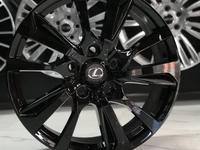 R21 Lexus LX570 Black Vision за 410 000 тг. в Алматы