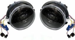 Фара MERCEDES G-class W463 92-06 черные линза тюнинг комплект R… за 155 000 тг. в Алматы