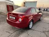 Chevrolet Aveo 2013 года за 3 900 000 тг. в Туркестан – фото 5