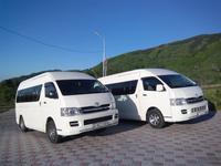 Аренда микроавтобусов с водителем. Пассажирские перевозки в Алматы