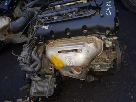 Двигатель на huyndai sanata g4ka 2.0 за 420 000 тг. в Алматы