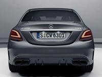 Диффузор с насадками C63S для Mercedes Benz W205 за 135 000 тг. в Алматы