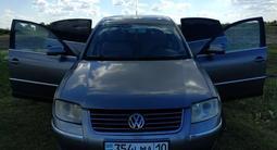 Volkswagen Passat 2002 года за 1 950 000 тг. в Костанай