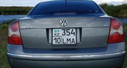 Volkswagen Passat 2002 года за 1 950 000 тг. в Костанай – фото 3