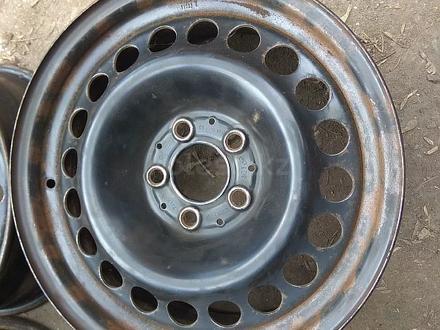 Оригинальные металлические диски на Mercedes (R16 5*112 ЦО66.6 7J за 45 000 тг. в Нур-Султан (Астана) – фото 2
