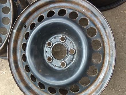 Оригинальные металлические диски на Mercedes (R16 5*112 ЦО66.6 7J за 45 000 тг. в Нур-Султан (Астана) – фото 3