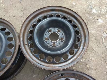 Оригинальные металлические диски на Mercedes (R16 5*112 ЦО66.6 7J за 45 000 тг. в Нур-Султан (Астана) – фото 5