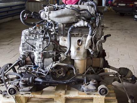 Двигатель на Nissan Almera за 101 010 тг. в Алматы