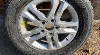 Диск с резиной на Mercedes G500. Новый. Резина 265/60R18. за 45 000 тг. в Алматы