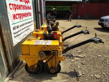 Каток дорожный вибрационный грунтовый виброплита трамбовка в Алматы