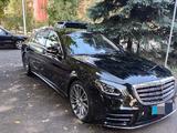 Mercedes-Benz S 560 2018 года за 45 000 000 тг. в Алматы