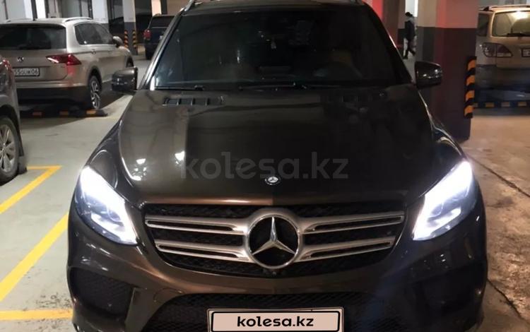 Mercedes-Benz GLE 400 2016 года за 20 000 000 тг. в Нур-Султан (Астана)