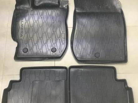 Коврики резиновые Nissan Almera 4 шт за 10 962 тг. в Петропавловск