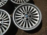 Оригинальные легкосплавные диски 33 стиль на BMW 5 е39 (Германия R1 за 120 000 тг. в Нур-Султан (Астана) – фото 3