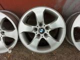Диски R17/5 120 на BMW X3 E83, комплект 4 штуки, оригинал из Японии за 100 000 тг. в Алматы – фото 2