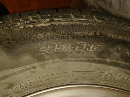 Дисками с шинами бу на тойота РАВ 4 за 150 000 тг. в Алматы – фото 4