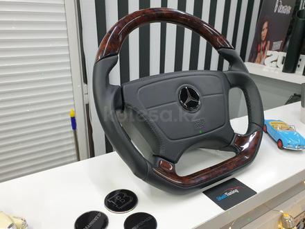 Анатомический руль дизайн Victor для модельного ряда Mercedes за 140 000 тг. в Алматы – фото 10