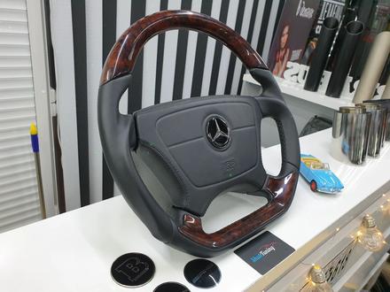 Анатомический руль дизайн Victor для модельного ряда Mercedes за 140 000 тг. в Алматы – фото 6