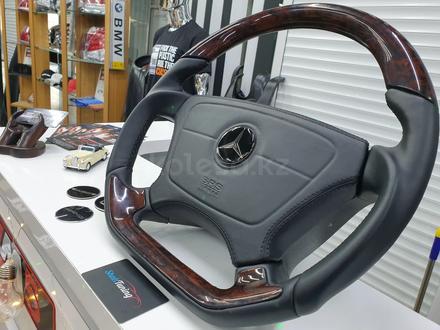 Анатомический руль дизайн Victor для модельного ряда Mercedes за 140 000 тг. в Алматы – фото 8
