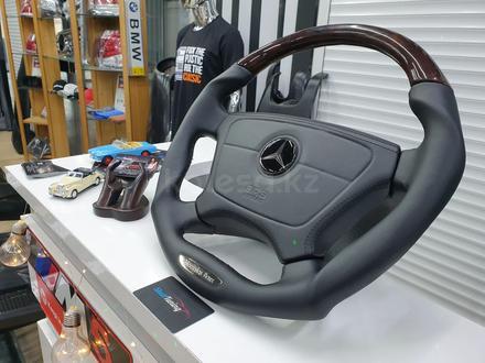 Анатомический руль дизайн Victor для модельного ряда Mercedes за 140 000 тг. в Алматы – фото 9