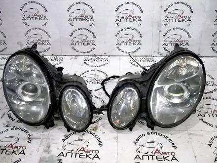 Фары mercedes w211 до рестайлинг ксенон за 100 000 тг. в Актобе – фото 7