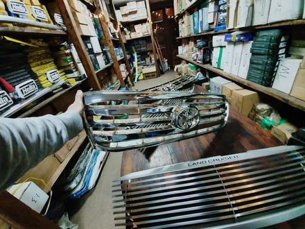 Решетки радиатора на Toyota LAND Cruiser 100 за 30 000 тг. в Алматы – фото 8
