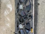 Диффузор с вентилятором в сборе на Митсубиси Лансер Х за 35 000 тг. в Караганда – фото 2