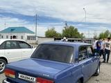 ВАЗ (Lada) 2107 2006 года за 830 000 тг. в Кызылорда – фото 3