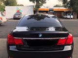 BMW 750 2009 года за 7 700 000 тг. в Алматы – фото 5