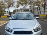 Chevrolet Aveo 2013 года за 3 800 000 тг. в Шымкент – фото 3