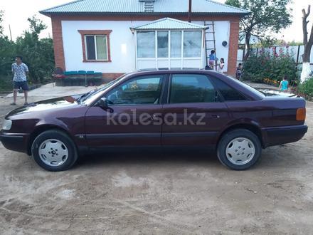 Audi 100 1991 года за 1 600 000 тг. в Кызылорда – фото 4