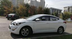 Hyundai Elantra 2014 года за 7 350 000 тг. в Алматы – фото 5