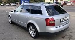 Audi A4 2003 года за 2 400 000 тг. в Алматы – фото 3